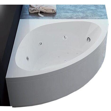 Vasca con telaio senza idromassaggio in acrilico 140x140 cm - alessia vtl