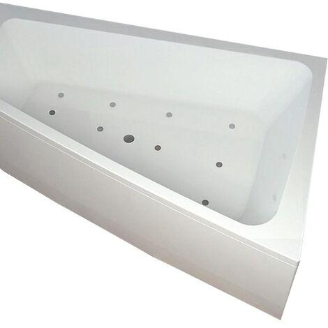Vasca con telaio senza idromassaggio in acrilico 150x100 cm - sabrina vtl