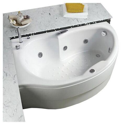 Vasca con telaio senza idromassaggio in acrilico 160x85x100 cm - simy vtl