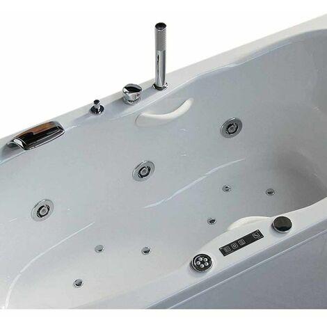 Vasca con telaio senza idromassaggio in acrilico 170x70 cm - sonia vtl