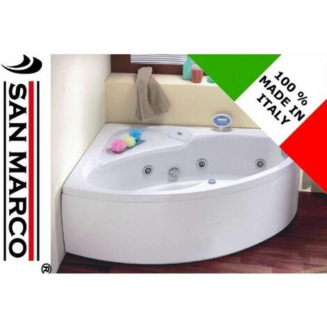 Vasca da bagno angolare 150x100x55 cm