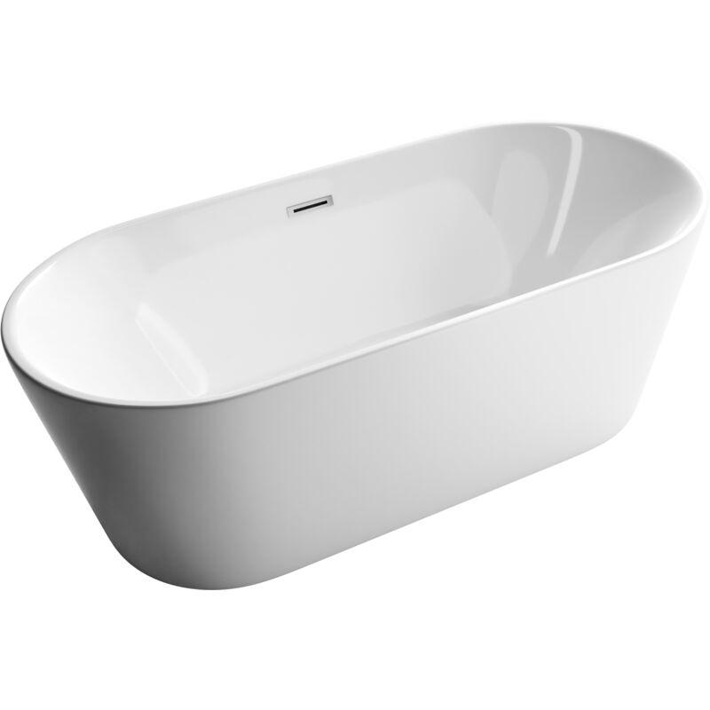Vasche Da Bagno Freestanding Dimensioni : Vasca da bagno freestanding su piedistallo con appoggio cm