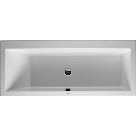 Vasca da bagno Duravit Vero 170x70cm, inclinazione posteriore sinistra, 700131, versione da incasso - 700131000000000