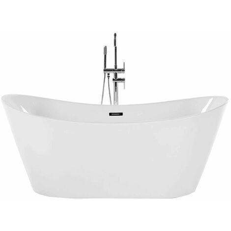 Vasca da bagno freestanding 160 cm bianca ANTIGUA