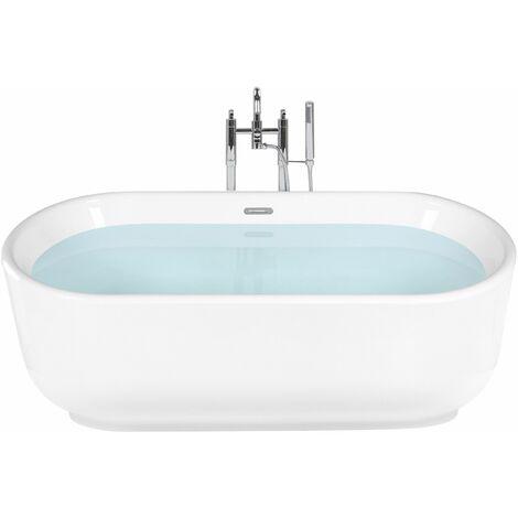 Vasca da bagno freestanding bianca PINEL