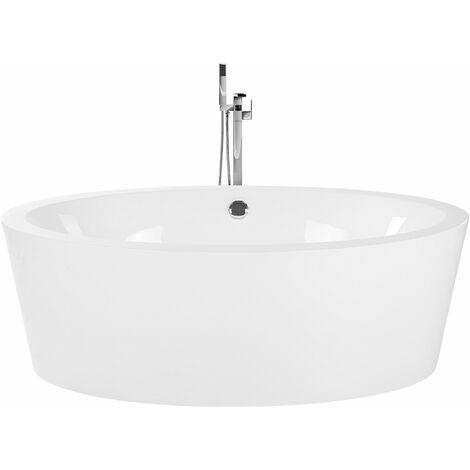 Vasca da bagno freestanding bianca TINTAMARRE