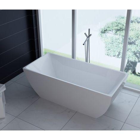 Vasca da bagno freestanding in acrilico 170x80x58cm REGINA