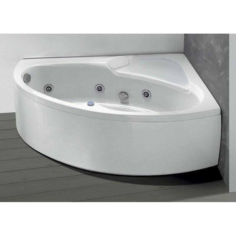 Vasche Da Bagno Idromassaggio : Vasca da bagno idromassaggio angolare cm