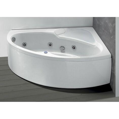Vasca da bagno idromassaggio angolare 150x100 cm