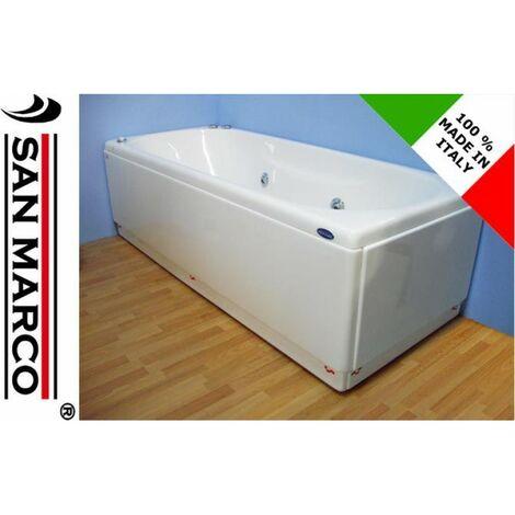 Vasca da bagno idromassaggio rettangolare 150x70 cm