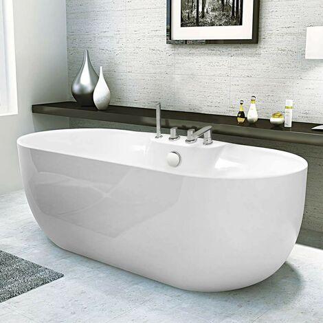 Vasca Da Bagno In Resina.Vasca Da Bagno Indipendente Freestanding Design In Acrilico Resina Fiberglass Atmosphere