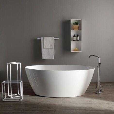 Vasca da bagno moderna in resina di marmo serena for Vasca da bagno moderna