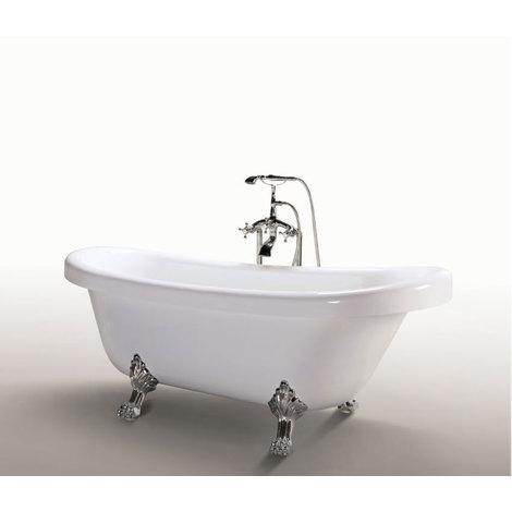 La bañera exenta sobrepuesta