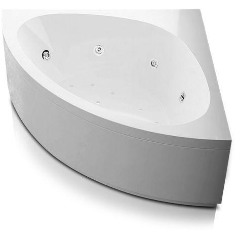 Vasca idromassaggio angolare in acrilico con avviamento digitale Modello Alessia