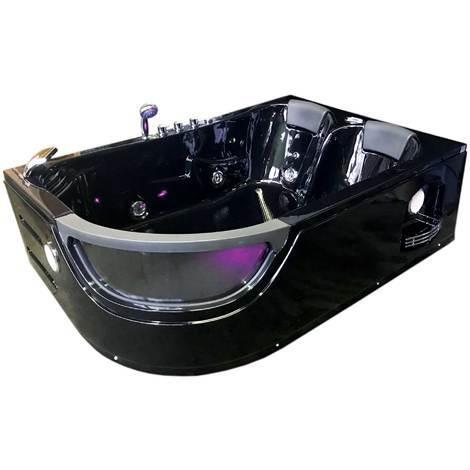 Vasca Idromassaggio Modello ORION NERA 180 x 120 cm