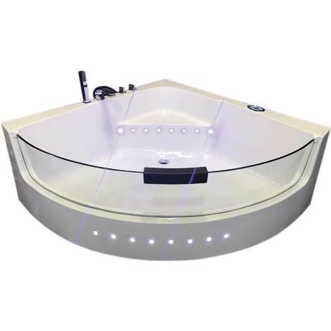 Vasca Idromassaggio Modello WHITE SHARK 140 x 140 cm