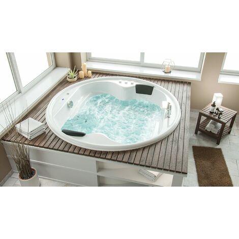 Vasca idromassaggio Saturn Premium rotonda