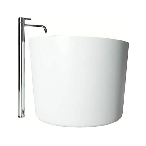 Vasca monoblocco in luxolid 160x80 cm - marechiaro tub