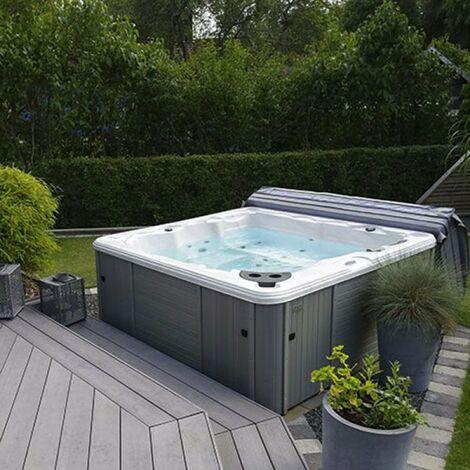Vasca SPA idromassaggio da giardino 200x200 cm