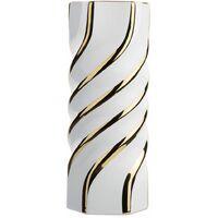 Vase blanc en céramique ALTEA