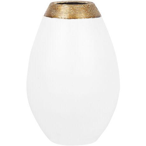 Vase décoratif blanc CORIA
