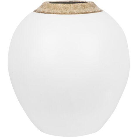 Vase décoratif blanc LAURI