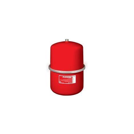 Vase dexpansion à membrane fixe FLEXCON 2 - 25 raccordement par le dessus diamètre M 3 / 4 18 litres 1 bar
