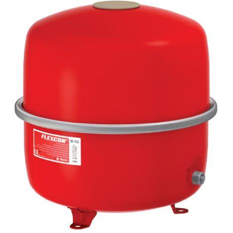 Vase dexpansion à membrane fixe FLEXCON 35 - 80 raccordement sur le coté diamètre M 3 / 4 35 litres 15 bars