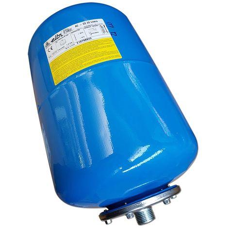 Vase d'expansion à membrane interchangeable de 50 litres pour l'eau sanitaire