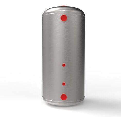 Vase d'expansion chauffage ouvert Tôle galvanisée cylindrique - 150L