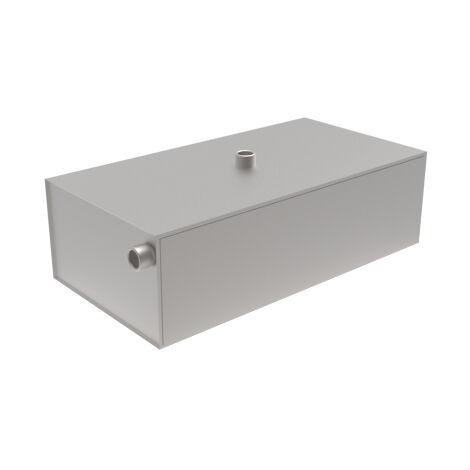 Vase d'expansion chauffage ouvert Tôle galvanisée rectangulaire - 30L