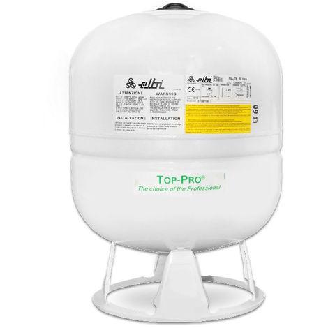 Vase d'expansion polyfonctionnel DV50 à membrane fixe pour eau sanitaire ou chauffage