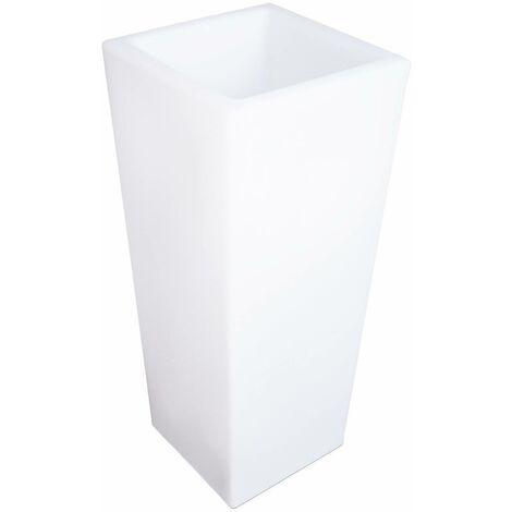 Vase LED 75cm - Pot de fleurs décoratif lumineux, 16 couleurs, 75cm, rechargeable, télécommande