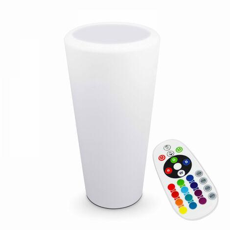 Vase pot lumineux sans fil Shine - Multicolore