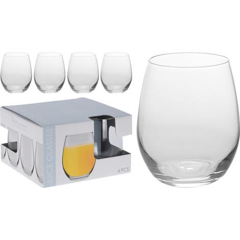 Vaso Agua Pack 4 39 CL - KOOPMAN - CC7000240