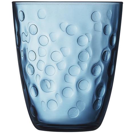Vaso Bajo Pepite Azul Set 6 31 CL - LUMINARC - 9305871