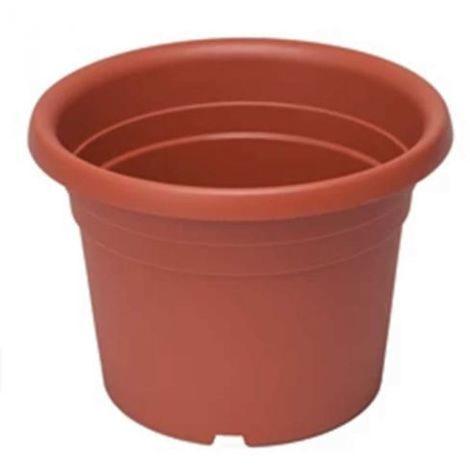 Vasi Per Giardino In Plastica.Vaso Giardino In Plastica Tondo Terracotta Diametro 20 Cm Per Piante E Fiori
