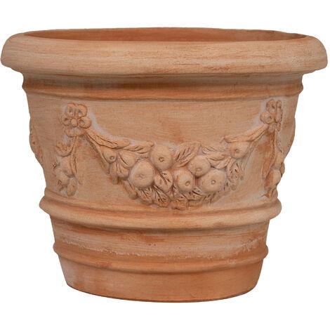 """main image of """"Vaso in Terracotta 100% Made in Italy interamente Lavorata a Mano"""""""