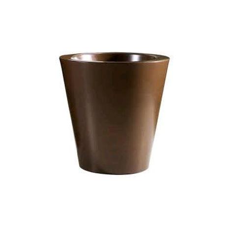 Vasi Per Esterno In Plastica.Vaso Kuno Gloss Ruggine Plastica 50 X 50 H Cm Esterno Interno
