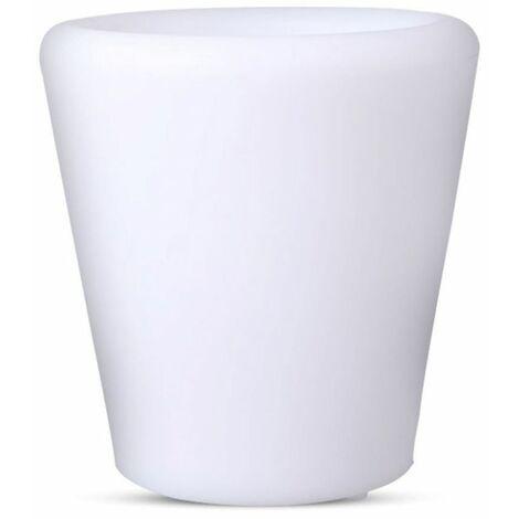 Vaso LED V-TAC 1W RGB con Telecomando IR 24 Tasti e Alimentatore IP54 Dimmerabile