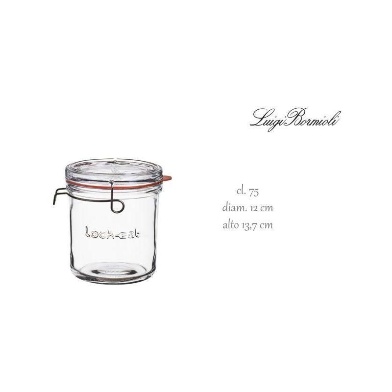 Image of Bormioli Luigi S.p.a - VASO LOCK-EAT ERMET.CL. 75