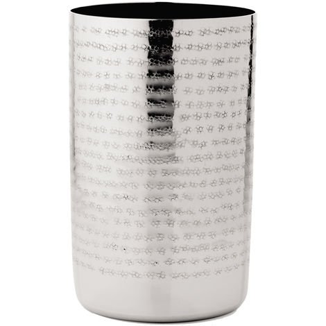 "Vaso MSV ""Fes"" de acero inoxidable en color gris"