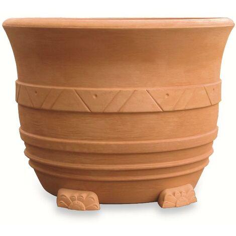 Produttori Vasi In Plastica.Vaso Resina Grande Mediterraneo Cm 110 Anticato 8019742052309