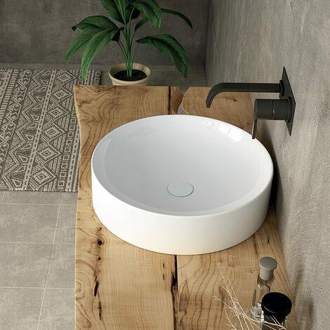 Vasque 43 cm à poser en céramique - India