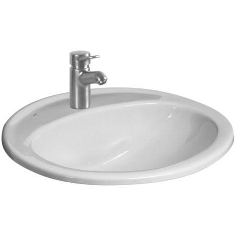 Vasque a encastrer 52x41cm ROCA POLO - Blanc