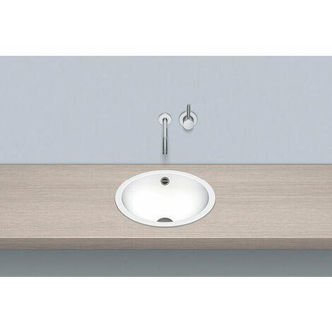 Vasque à encastrer Alape EB.K400, ronde Ø 40,0cm, 2001000000, blanche - 2001000000