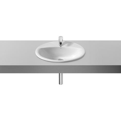 Vasque à encastrer Aloa 56x47.5 blanc