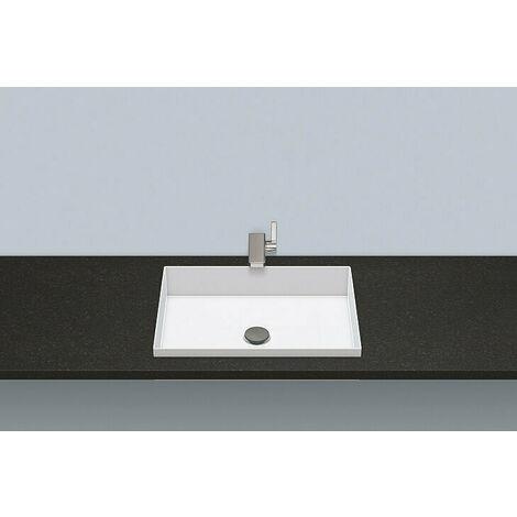 Vasque à encastrer EB.ME500, rectangulaire L : 500mm H : 111mm P : 375mm, 2226503000, blanche - 2226503000