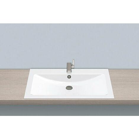 Vasque à encastrer EB.R800H, rectangulaire L : 800mm H : 120mm P : 500mm, 2204200000,blanc - 2204200000