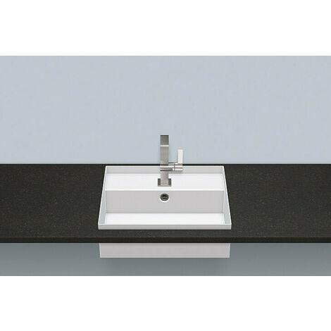 Vasque à encastrer EB.ST500H, rectangulaire L : 500mm H : 174mm P : 420mm, 2235604000, Coloris: blanc facile d'entretien - 2235604400